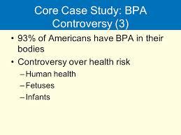 BPA controversy