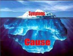 symptom vs cause